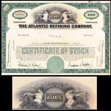 Atlantic Refining Company PA 1958 Stock Certificate