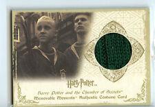 Harry Potter Memorable Moments C2 Costume Card Tom Felton Draco Malfoy 129/170