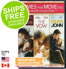The Words / The Vow / Dear John - Movies That Move You 3-Movie Collection NEW
