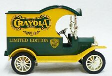 CRAYOLA LIMITED EDITION DIE CAST FORD MODEL T COIN BANK WITH KEY