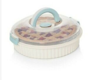 Sweet Creations Cake Pie Carrier Food Baking Storage 10.75""