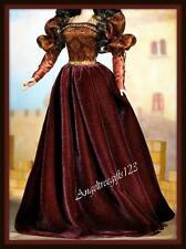 Princess of portuguese empire dress fits Barbie model muse silkstone