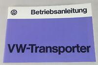 Betriebsanleitung VW Bus / Transporter T2 / T2b Stand 08/1974