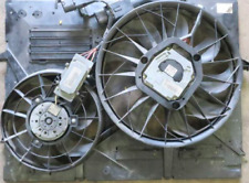 Genuine 03-06 Porsche Cayenne S 4.5L Engine Radiator Cooling Fan Shroud TESTED