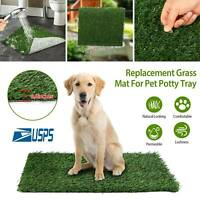 Pet Potty Trainer Grass Mat Dog Puppy Training Pee Patch Pad Indoor Toilet