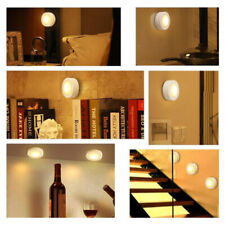 Wireless Led Puck Light With Remote Control Under Cabinet Lighting Warm White