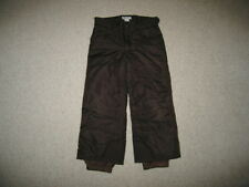 """CHEROKEE"" Brown Snow Ski Pants Boys Girls S (6/X) Fall/Winter Snowboard Outfit"