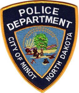 City of Minot Police Department North Dakota ND patch