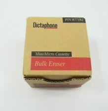 New Dictaphone Bulk Eraser Desktop Mini Micro Cassette Switzerland 877182