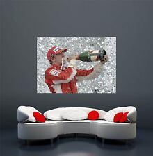 Kimi Raikkonen fórmula 1 deporte del motor controlador Gigante Poster Print X1724