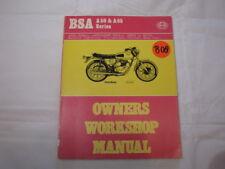Haynes BSA A50 A65  1962-1973  Workshop Manual THUNDERBOLT ROCKET SPITFIRE