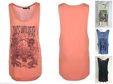 Markenlose ärmellose Damenblusen, - tops & -shirts mit Rundhals-Ausschnitt