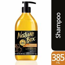Nature Box Shampoo - for Instant Hydration, with 100% Cold Pressed Macadamia...