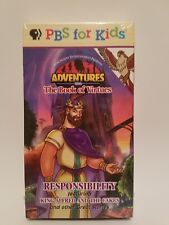 Adventures From the Book of Virtues Responsibility (VHS, 1997) PBS for Kids
