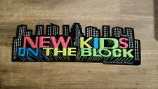 New Kids on The Block NKOTB Vintage patch superstrip large music boy band 6