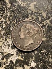 1896 Newfoundland 10 Cents Lot#Q9922 Silver!