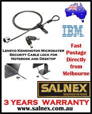 IBM Lenovo Kensington MicroSaver Security Cable Lock For Notebook,Desktop & LCD