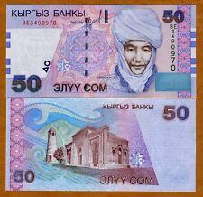 Kyrgyzstan, 50 Som, 2002, P-20, UNC
