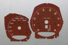 Lockwood PORSCHE CAYMAN kmh rouge cadran Kit de conversion c917r