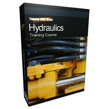 Hydraulic Hydraulics Auto Mechanic Fluid Power Training Book Guide CD