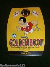 BEER PUMP CLIP - HOPBACK GOLDEN BOOT