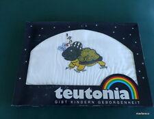 10 Stück Teutonia Baby Bettwäschegarnitur Schildkröte Neu OVP im Geschenkkarton!