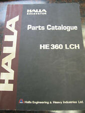 Halla Excavator (HE 360 LCH) - Parts Catalogue
