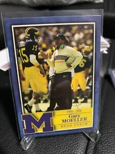 TK Legacy GARY MOELLER Michigan Wolverines Football card RARE base Head Coach