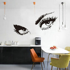 Charming Audrey Hepburn Eyes Removable Wall Sticker Home Decoration Wall Paper