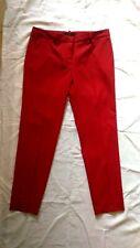 Pantaloni Donna Rosso. Linea  sigaretta. Tg S  42. Zara