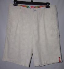 NWT Tommy Bahama Men's Size 34 Relax Plaid Shorts NEW Seersucker Punch