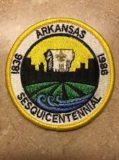ARKANSAS SESQUICENTENNIAL 1836-1986 BSA PATCH