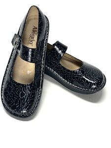 Alegria Pal-541 Black Size 40/US 9.5-10 Mary Jane Shoes