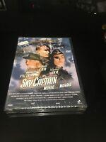 SKY CAPTAIN Y EL MUNDO DEL MAÑANA DVD JUDE LAW GWYNETH PALTROW ANGELINE JOLIE