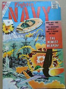 FIGHTIN' NAVY #101 Silver Age Charlton Comics 1961 VG