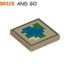 Neuf!!! 27263 Lego 10x Dark Blue Tile Modified 2x2 coin Facette