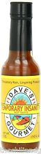 Dave's Temporary Insanity Sauce