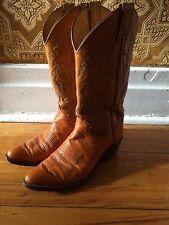 JUSTIN roper western cowboy horse riding equestrian mens boots sz 7.5 D