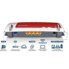 AVM Fritz! box 4040 router WLAN para conexión a cable/DSL/fibra módem USB