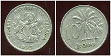 NIGERIA 10 kobo 1973  ( bis )