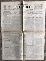 N143 La Une Du Journal Le Figaro 30 Octobre 1929