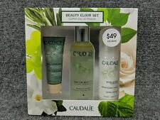 Caudalie Beauty Elixir Set 3.4 Fl Oz. w/ Detox Mask & Instant Foaming Cleanser