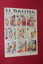 rivista a fumetti IL BALILLA Supplemento Popolo d'Italia ANNO XIII N.20 (1935)
