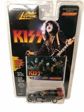 Paul Stanley  Kiss Car Super Johnny Lightening Die Cast Body and  Photo Cards