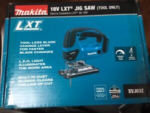 Makita XVJ03Z 18V 18 Volt LXT Lithium-Ion Jigsaw Cordless Battery Saw Blades NEW