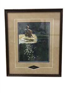 Bev Doolittle Let My Spirit Soar Native American Woman Framed Print w/ Feather