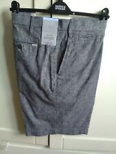 BNWT MEN'S LINEN SHORTS WAIST 44 (M&S) RRP £29.50