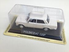 POLSKI FIAT 125 P 1/43 IXO LEGENDARY CAR AUTO-B77 VOITURE MINIATURE