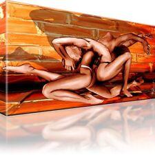 Akt Erotik Nude Bild Bilder Leinwand Keilrahmen Wandbild Kunstdruck Dekoration