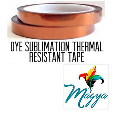 Heat Proof Thermal Tape Heat Resistant Sublimation Adhesive 10mm*33m 2 rolls